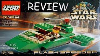LEGO Star Wars Flash Speeder Review