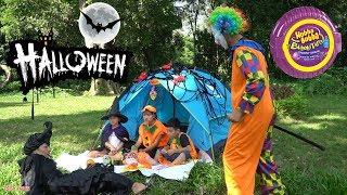 Trò Chơi Hóa Trang Halloween - Chú Hề Giải Cứu Các Em Nhỏ Thoát Khỏi Phép Thuật Của Bà Phù Thủy
