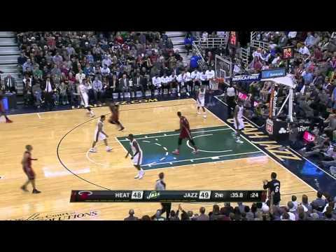 Miami Heat vs Utah Jazz | February 8, 2014 | NBA 2013-14 Season