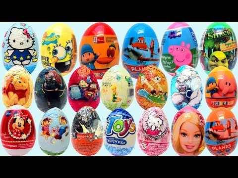 Surprise Eggs Huevos Kinder Sorpresa Spongebob