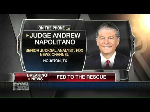 Judge Napolitano: The Fed Will Push Stock Market Troubles Into The Future