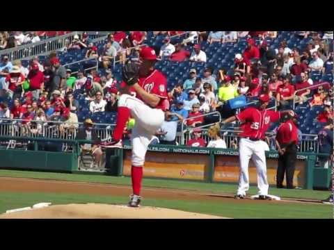 Stephen Strasburg, Brandon Beachy Slow-Motion Pitching