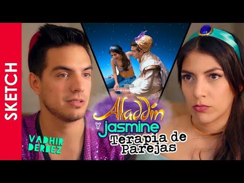 TERAPIA DE PAREJAS ALADDIN Y JASMINE | Vadhir Derbez | Katia Nabil