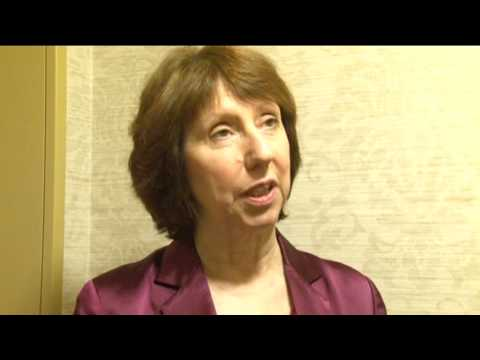 Catherine Ashton's statement after E3+3 talks with Iran in Almaty, Kazakhstan