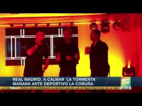 Carlo Ancelotti habló sobre la fiesta de Cristiano Ronaldo