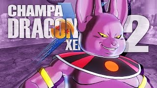 God of Destruction Champa DLC Moveset Gameplay! | Dragon Ball Xenoverse 2