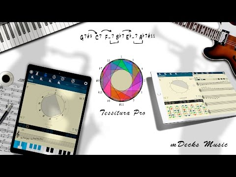Scales, Modes And Melodic Patterns. Tessitura Pro For IOS Version 3.6.1