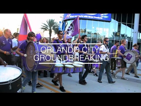 Orlando City Soccer Club Stadium Groundbreaking | Visit Orlando