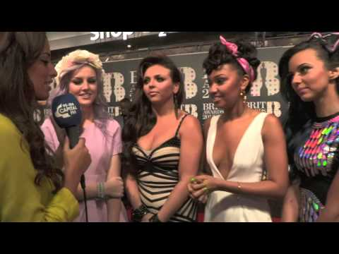 BRIT Awards 2013: Little Mix Red Carpet Interview With Capital FM