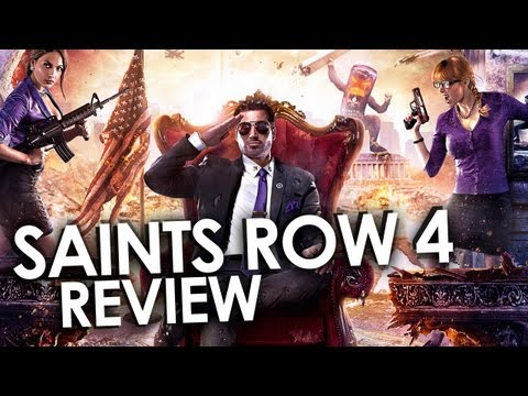Perfekt. weil Dubstep! - Saints Row 4 Test / Review - GIGA.DE