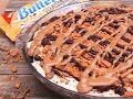 No-Bake Peanut Butter Buttterfinger Pie (With Hubby)