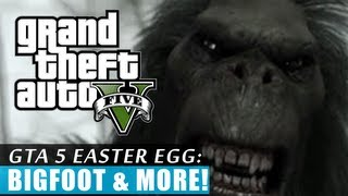 GTA 5: Bigfoot & Max Payne 3 EASTER EGG! (HD)