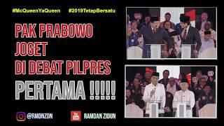 VIRAL !!! PAK PRABOWO JOGET DI DEBAT CAPRES & CAWAPRES PERTAMA 2019 DENGAN IRINGAN LAGU KOPLO
