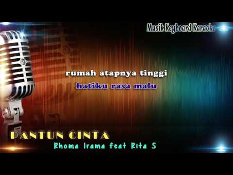 Rhoma Irama feat Rita S - Pantun Cinta Karaoke Tanpa Vokal