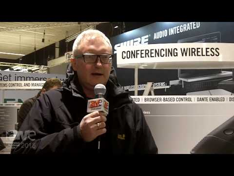 ISE 2015: Shure Talks About Advanced Conferencing Products