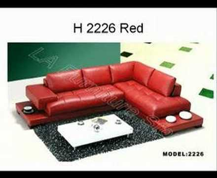 Modern Furniture Modern Sectional Sofa   (866) 397-0933 LAFurnitureStore.com