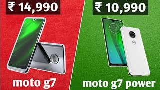 Moto G7 & Moto G7 power Specification, price & Launch date in India  Moto g7 Plus, Moto g7 Play.