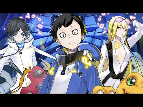 6 Minutes of Digimon Cyber Sleuth: Hacker's Memory Gameplay