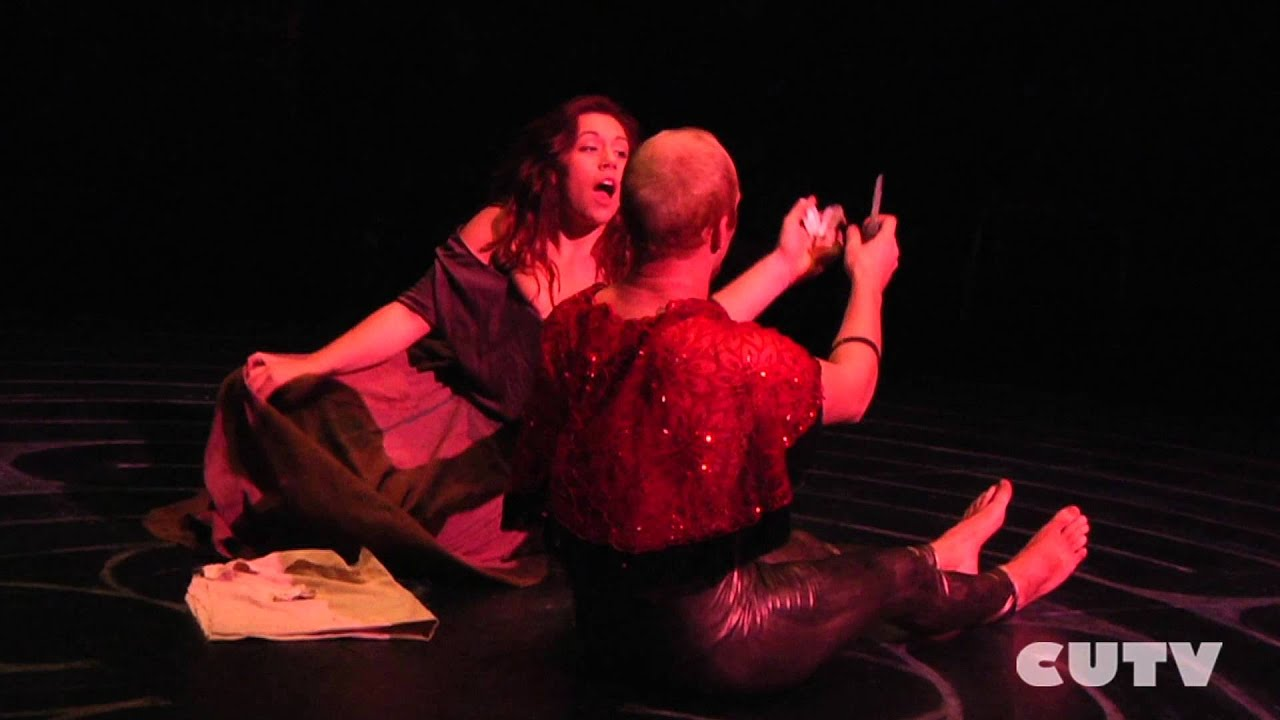 The 7th Seal adaptation performed by Concordia Theater department