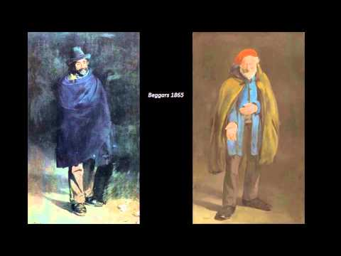Manet, Edouard Part One 2/3 Art Lecture by dr. christian conrad