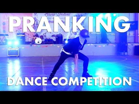 DANCE COMPETITION PRANK | WARNING: CRINGY AF