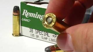 AT1 - .38 Special - Remington UMC 125 Gr +P JHP