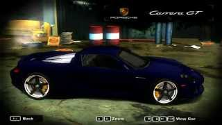 Need for Speed Most Wanted 2005 - Porsche Carrera GT Mod by Porsche 4ever