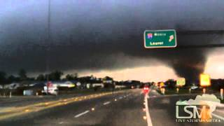 2/10/13 Hattiesburg, MS; Tornado RAW *John Sibley HD*