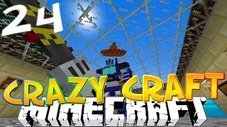 """Minecraft CRAZY CRAFT 3.0 #24 """"I'M A TRANSFORMER!"""" (Crazy Craft SMP)"""