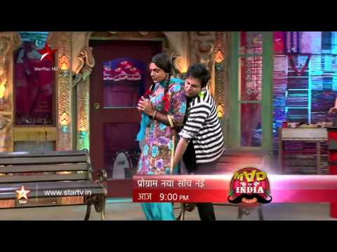 Mad In India - Chutki's First Love, Krushna Abhishek! video