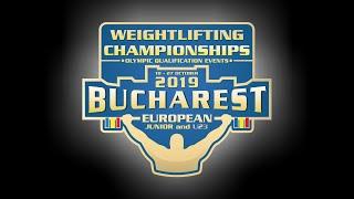 European Junior Under 23 Weightlifting championships Men 61 Kg Junior