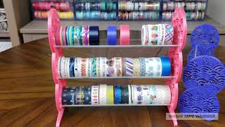 Decorative Washi Tape Display: Features and Functionality