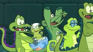 Крокодильчик Свомпи - неспокойные воды