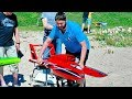 WOW !!! BIG RC ELECTRIC POWERBOAT FANTASTIC SPEEDBOAT IN ACTION !!!