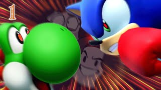 Team USA vs... Alligatoria?? - Mario & Sonic at the Olympic Games 1