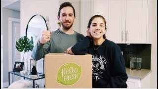 HELLO FRESH REVIEW  (IS IT WORTH IT?) + GROCERY HAUL | What I Eat Throughout The Week