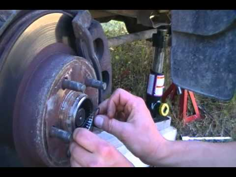 Replacing automatic locking hubs with manual hubs on a 1998 ford ranger