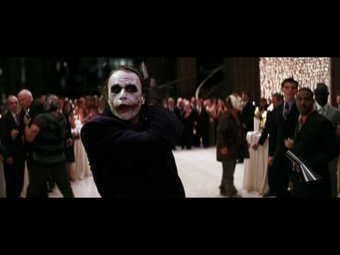 The Joker Party Crashing Scene 720p (HD)