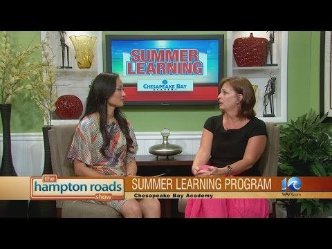 Chesapeake Bay Academy has a summer learning program for your child to help keep their skills sharp