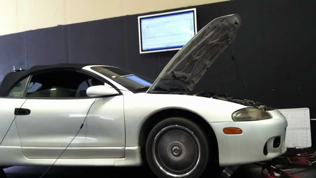 1999 Eclipse Spyder Gs 4g64 Sohc With Turbo 19psi Youtube