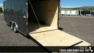 2016 Pace American Outback 8.5x20 Enclosed Cargo Trailer ...