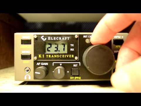 Elecraft K1 CW QRP  4 Band Transceiver