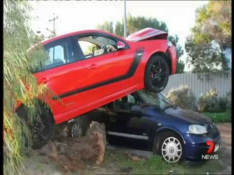 Hoons wreak havoc in Perth, Western Australia, 2014