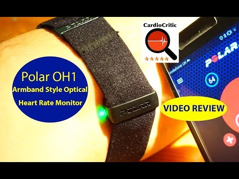 Polar OH1 Optical Heart Rate Sensor (Bluetooth) REVIEW by CardioCritic aka Tristan Haskins