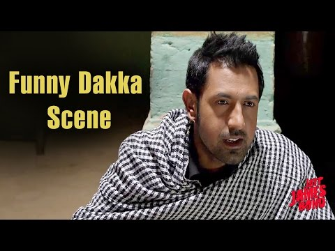 Funny Dakka Scene - Punjabi Comedy | Gurpreet Ghuggi | Jatt James Bond video