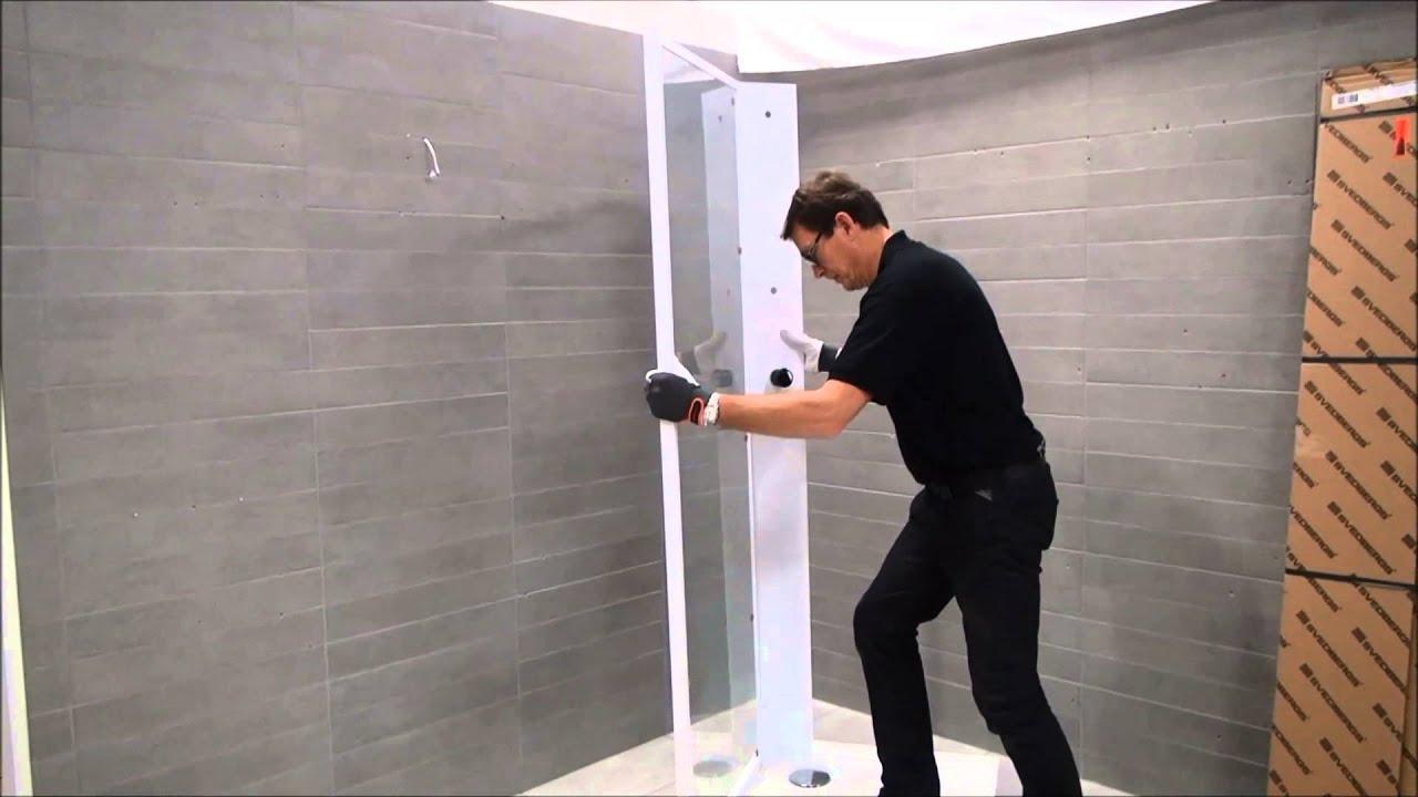 Duschkabin video montering av vår Fasett duschkabin Svedbergs YouTube