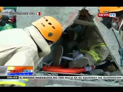 NTG: Earthquake drill, isinasagawa sa Marikina City