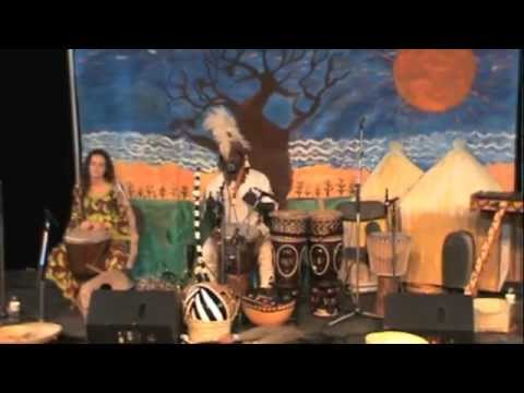 Children's Show Demo : KUNDA African Culture, Music, & Dance
