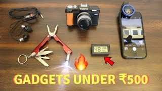 Unique Gadgets Under Rs500 | Part 11 | Tech Unboxing 🔥