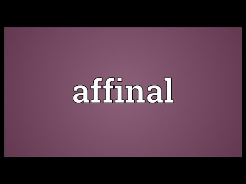Header of affinal
